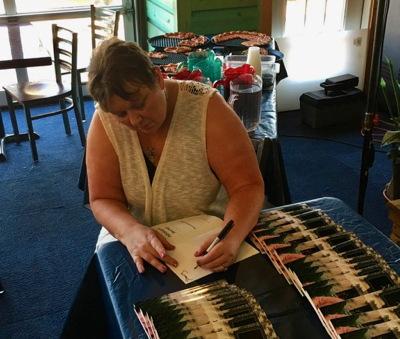 Rhonda Signing