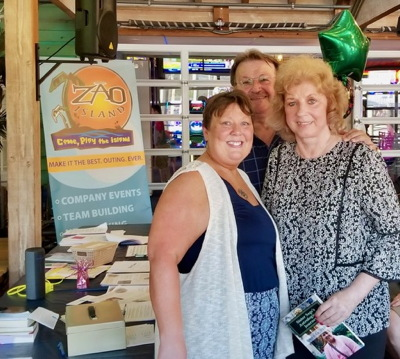 Rhonda, Jan and Dennis