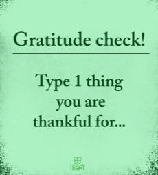 Gratitude Check