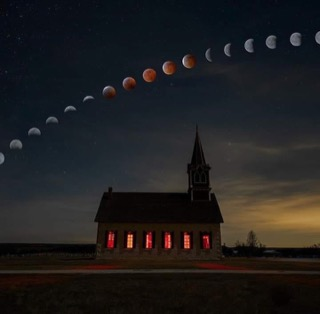 Moons over Church
