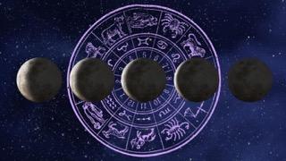 Moon and Retro